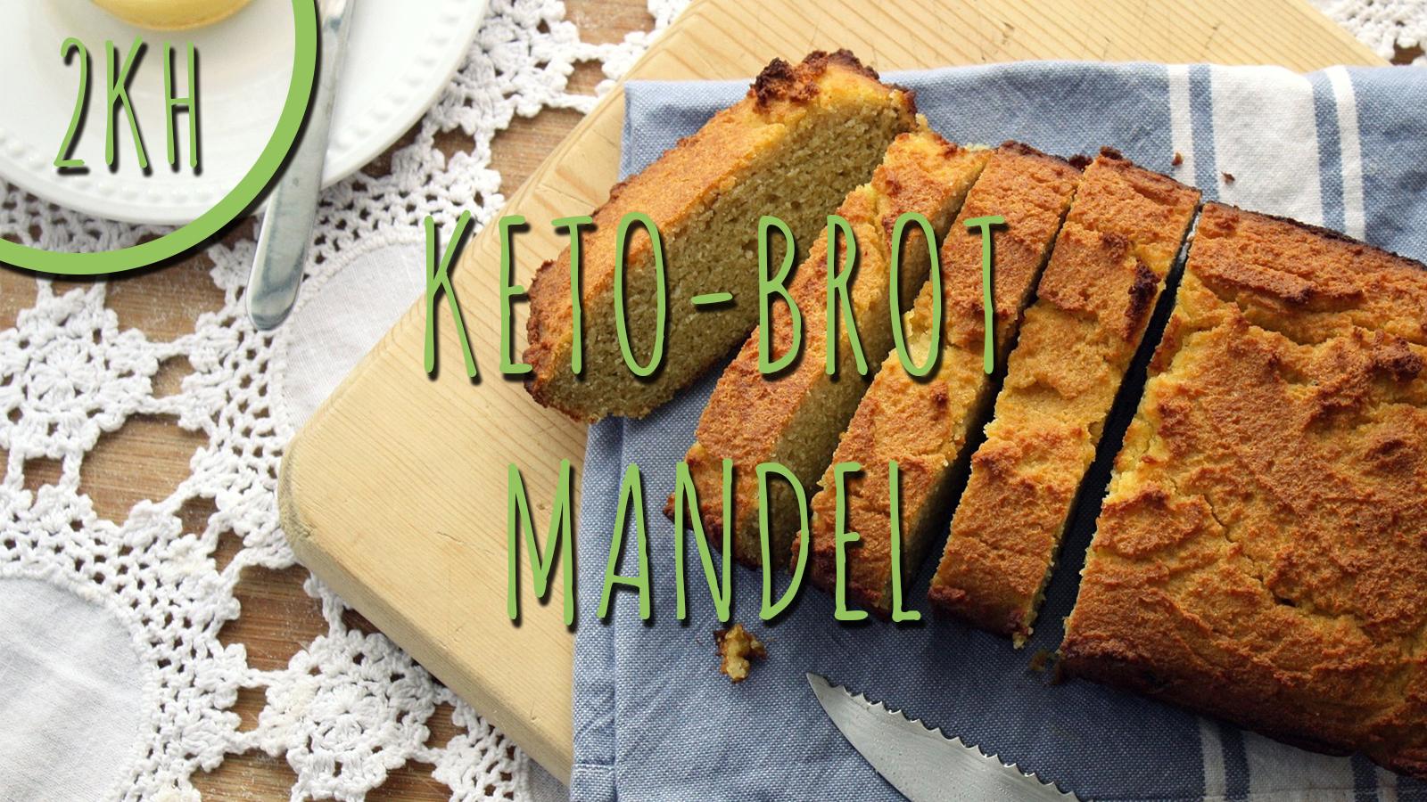 Keto-Brot mit Mandeln
